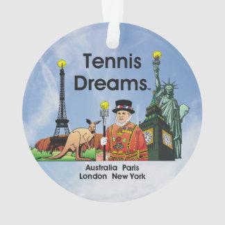 TOP Tennis Dreams Ornament
