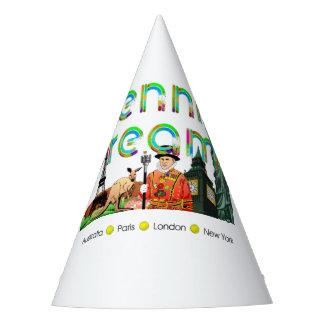 TOP Tennis Dreams Party Hat