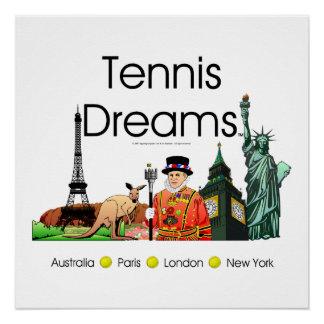 TOP Tennis Dreams Perfect Poster