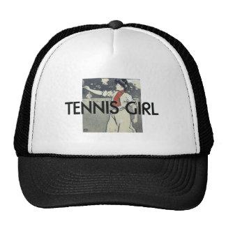 TOP Tennis Girl Trucker Hat