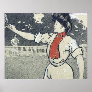 TOP Tennis Girl Posters