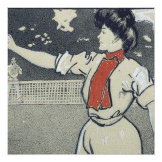 TOP Tennis Girl Poster