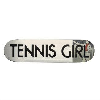 TOP Tennis Girl Skateboard