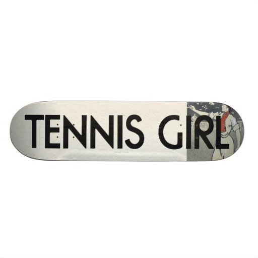 TOP Tennis Girl Skate Board Deck