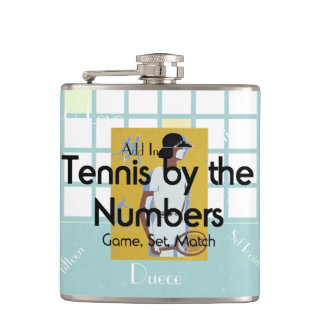 TOP Tennis Numbers Flask
