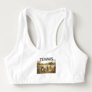 TOP Tennis Old School Sports Bra