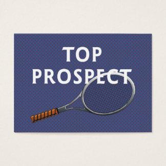 TOP Tennis Prospect Business Card