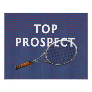 TOP Tennis Prospect Poster