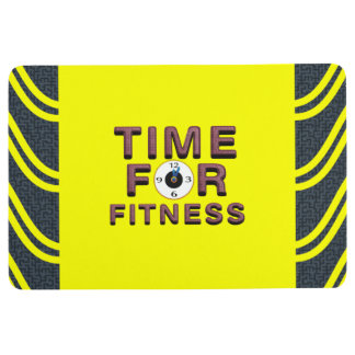 TOP Time for Fitness Floor Mat