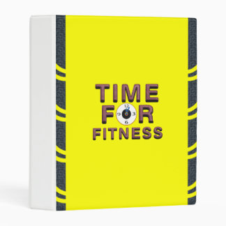 TOP Time for Fitness Mini Binder