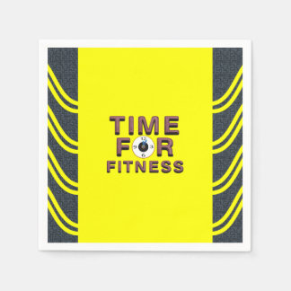 TOP Time for Fitness Paper Napkin