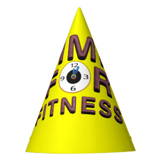 TOP Time for Fitness Party Hat