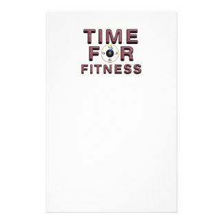 TOP Time for Fitness Stationery
