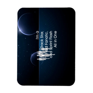 TOP Track All in One Rectangular Photo Magnet