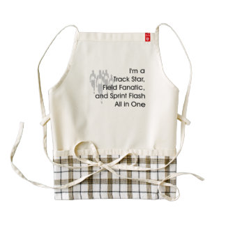 TOP Track All in One Zazzle HEART Apron