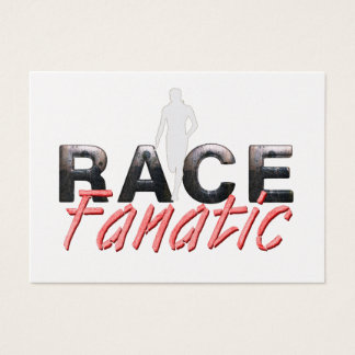TOP Track Race Fanatic Business Card