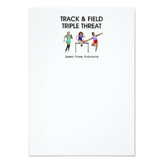 TOP Track Triple Card