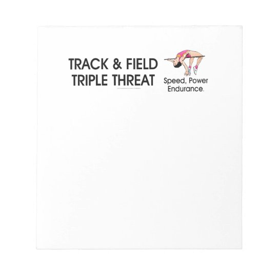 TOP Track Triple Notepad