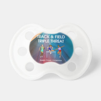 TOP Track Triple Pacifiers