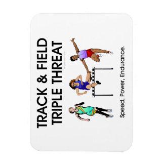 TOP Track Triple Rectangular Photo Magnet