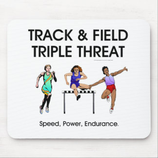TOP Track Triple Threat Mouse Pad