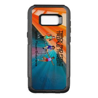 TOP Track Triple Threat OtterBox Commuter Samsung Galaxy S8+ Case