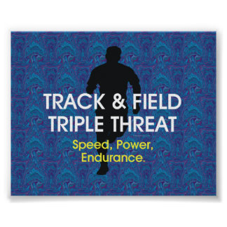 TOP Track Triple Threat Poster