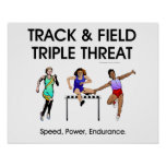 TOP Track Triple Threat Posters