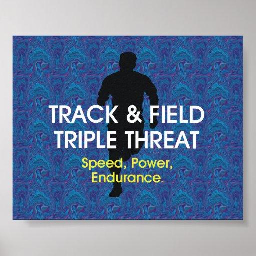 TOP Track Triple Threat Print