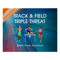 Track Triple Posters and Mugs