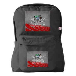 TOP Track Victory Slogan Backpack