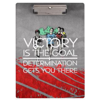 TOP Track Victory Slogan Clipboards