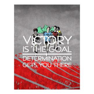TOP Track Victory Slogan Flyer