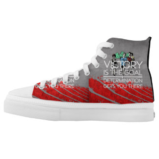 TOP Track Victory Slogan Printed Shoes