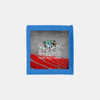 TOP Track Victory Slogan Reusable Bag