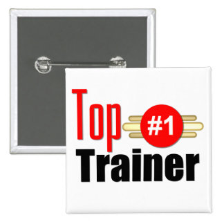 Top Trainer Pinback Button