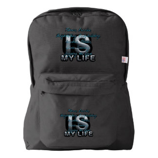 TOP Training is My Life Backpack