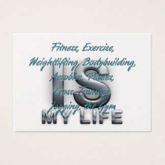 TOP Training Is My Life Business Card