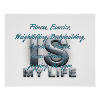 TOP Training Is My Life Print