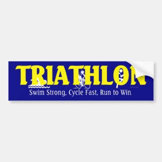 TOP Triathlon Bumper Sticker