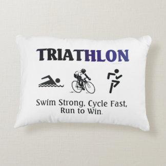TOP Triathlon Decorative Pillow