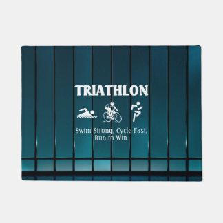 TOP Triathlon Doormat