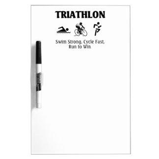 TOP Triathlon Dry-Erase Board