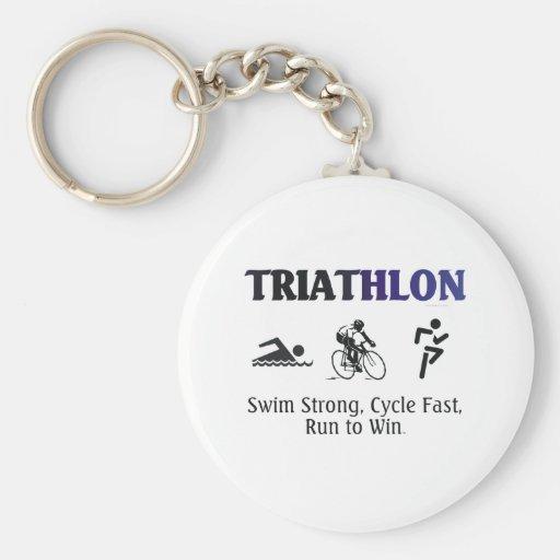 TOP Triathlon Keychain