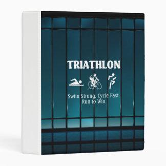 TOP Triathlon Mini Binder
