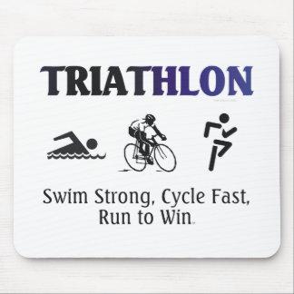 TOP Triathlon Mouse Pad