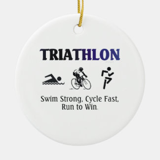 TOP Triathlon Ornaments