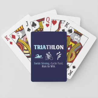 TOP Triathlon Playing Cards