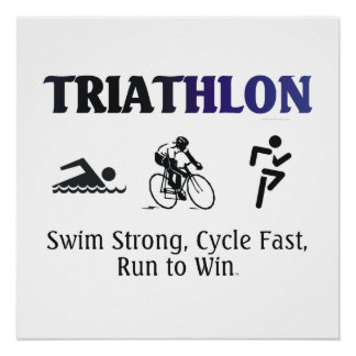 TOP Triathlon Poster