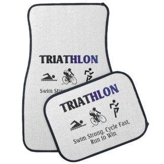 TOP Triathlon Floor Mat